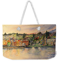 Sunday Evening Weekender Tote Bag