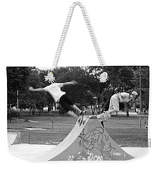 Skate Ballet Weekender Tote Bag