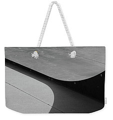 Weekender Tote Bag featuring the photograph Skateboard Ramp by Richard Rizzo