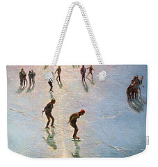 Skating In The Sunset  Weekender Tote Bag