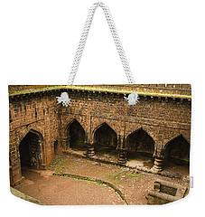 Skc 3278 The Ancient Courtyard Weekender Tote Bag by Sunil Kapadia