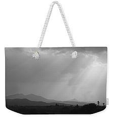 Skc 4928 Blessings Are Showering Weekender Tote Bag by Sunil Kapadia