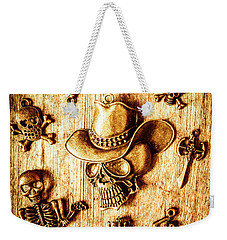 Weekender Tote Bag featuring the photograph Skeleton Pendant Party by Jorgo Photography - Wall Art Gallery