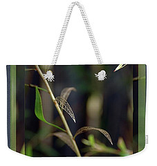 Weekender Tote Bag featuring the photograph Skeletons And Skin by Vicki Ferrari