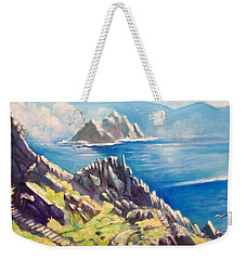 Skelligs County Kerry Ireland Weekender Tote Bag