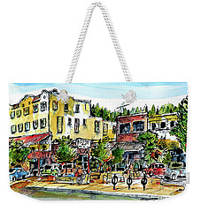 Sketch Crawl In Truckee Weekender Tote Bag