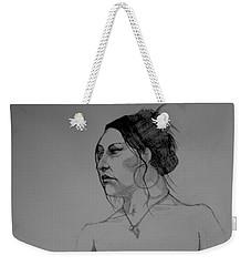 Sketch For Hollie Weekender Tote Bag