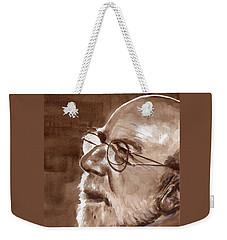 Sketch Of Bill Weekender Tote Bag
