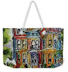 Sketchy Victorian Weekender Tote Bag