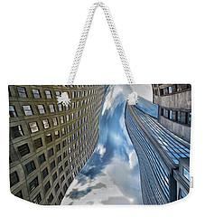 Skewed Reality Weekender Tote Bag