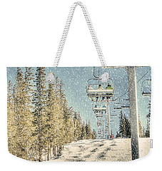 Ski Colorado Weekender Tote Bag by Juli Scalzi
