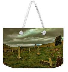Skies And Headstones #g9 Weekender Tote Bag