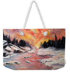 Skies Of Mercy Weekender Tote Bag