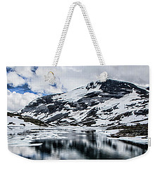 Skjolden Glacial Beauty Weekender Tote Bag by Shirley Mangini