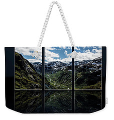 Skjolden Valley Weekender Tote Bag by Shirley Mangini