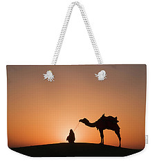 Skn 0893 Halo Of Sunrise Weekender Tote Bag