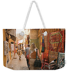 Skn 1226 Squeezed Lane Weekender Tote Bag