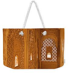 Skn 1241 Carved Niche Weekender Tote Bag by Sunil Kapadia