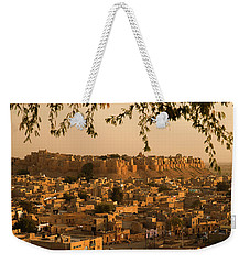 Skn 1334 Golden City Weekender Tote Bag