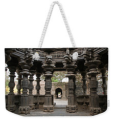 Skn 1960 Pillared Interior Weekender Tote Bag