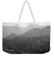 Skn 4443 Rolling Landscape Weekender Tote Bag