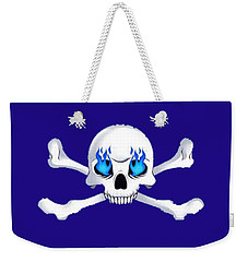 Crossbones 1 T-shirt Weekender Tote Bag