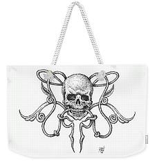 Skull Design Weekender Tote Bag