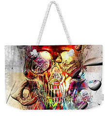 Skull Drops By Nico Bielow Weekender Tote Bag