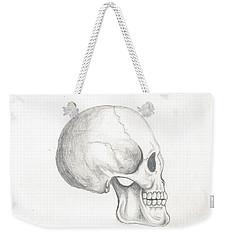 Skull Study Weekender Tote Bag