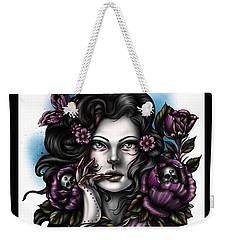 Skulls And Roses Weekender Tote Bag