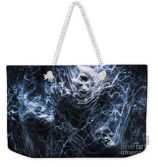 Skulls Tangled In Fear Weekender Tote Bag by Jorgo Photography - Wall Art Gallery