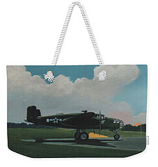 Skunky Weekender Tote Bag by Blue Sky
