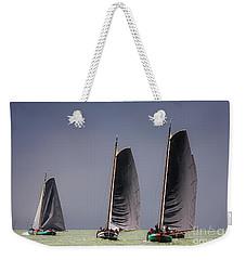 Skutsje Wedstrijd Voor De Wind Weekender Tote Bag