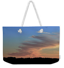 Weekender Tote Bag featuring the photograph Sky And Cloud At Sunset Two  by Lyle Crump
