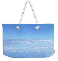 Weekender Tote Bag featuring the photograph sky and clouds M1 by Francesca Mackenney