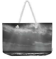 Weekender Tote Bag featuring the photograph Sky And Ocean by Ryan Manuel