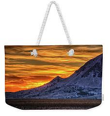 Sky And Stone Weekender Tote Bag by Fiskr Larsen