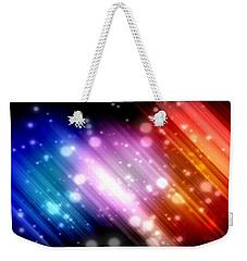 Sky Beams Weekender Tote Bag