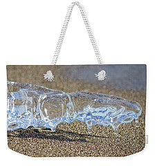Sky Blue Weekender Tote Bag