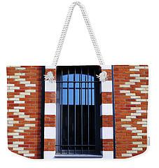Sky Blue Reflections Weekender Tote Bag