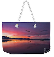 Sky Brows  Weekender Tote Bag by Mitch Shindelbower