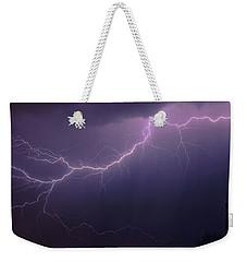 Sky Candy Weekender Tote Bag by Elaine Malott