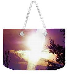 Sky Cross Sunset In Northern California Weekender Tote Bag
