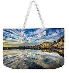Sky Drama Weekender Tote Bag