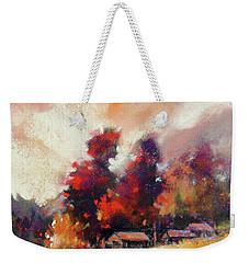Sky Fall Weekender Tote Bag by Rae Andrews
