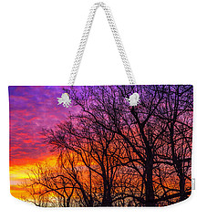 Weekender Tote Bag featuring the photograph Sky Fantastic by John Harding