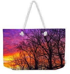 Sky Fantastic Weekender Tote Bag