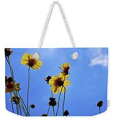 Sky Flowers Weekender Tote Bag