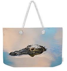 Sky Gator Weekender Tote Bag
