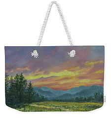 Sky Glow # 2 Weekender Tote Bag by Kathleen McDermott